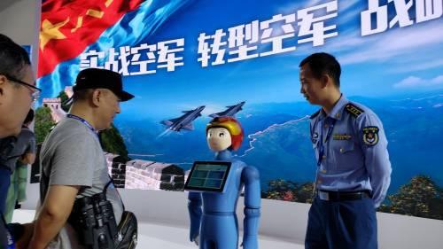 珠海航展今日闭幕  展示中国军力良好发展