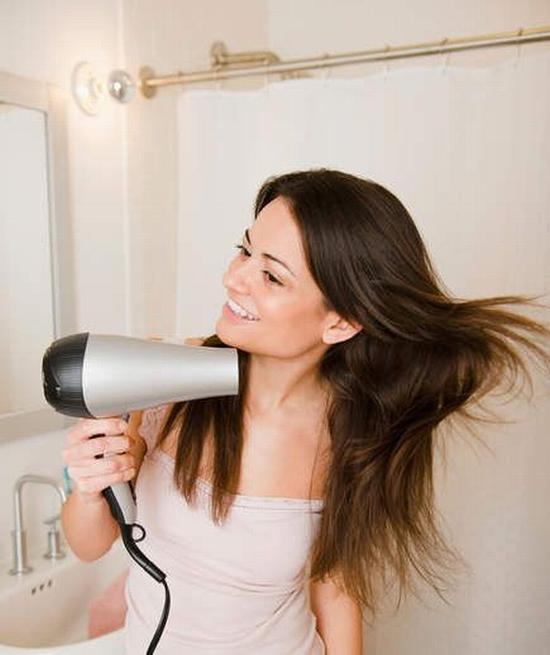 折腾头发也要适度  图片源自www.realsimple. com