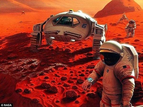 奥巴马发文章:2030年前送人类上火星并安然无恙返回地球的照片 - 2