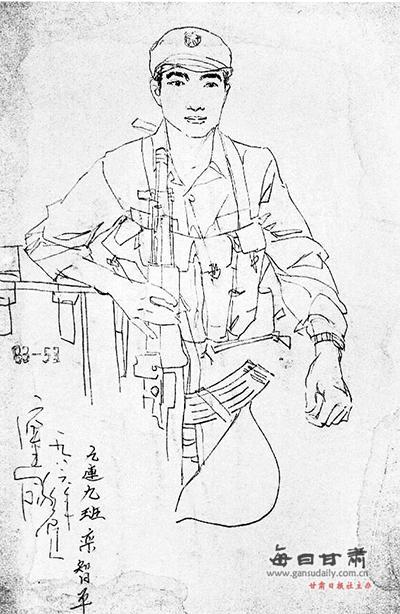 """【等你来】庆阳""""画像老兵""""寻30年前昔日战友盼重逢"""