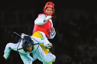 跆拳道夺冠向男友看齐 郑姝音:放开了打没有压力