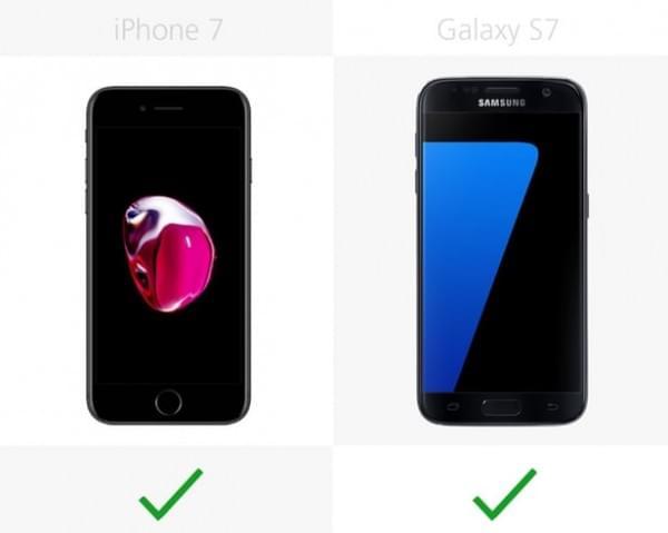 iPhone 7和Galaxy S7规格参数对比的照片 - 17