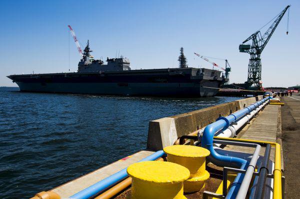 日当局热议出云号改航母 若可行将能攻击敌方基地