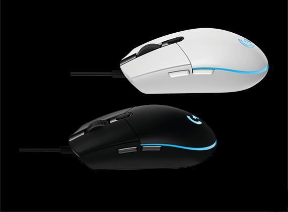 罗技G102游戏鼠标发布:6000DPI/黑白两色的照片 - 2