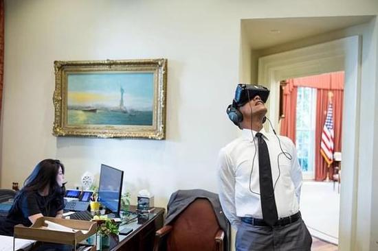 奥巴马将通过 VR 直播总统卸任演讲