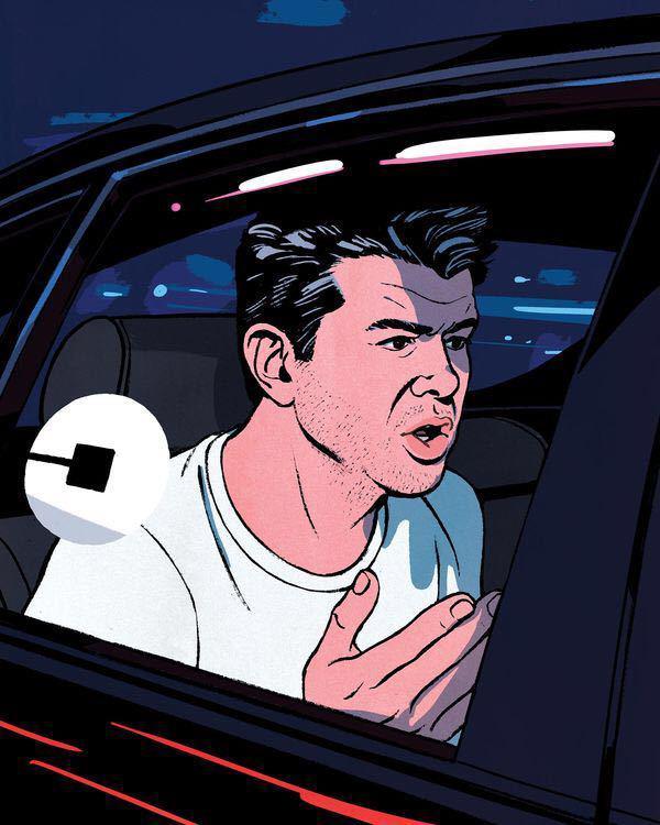 卡兰尼克的坠落,他是如何被一步步赶出Uber的