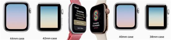 Apple Watch Series 4的這些改進和不變需知道