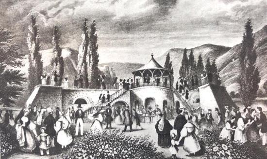 穿越200年 打开历史图册追寻马克思的足迹