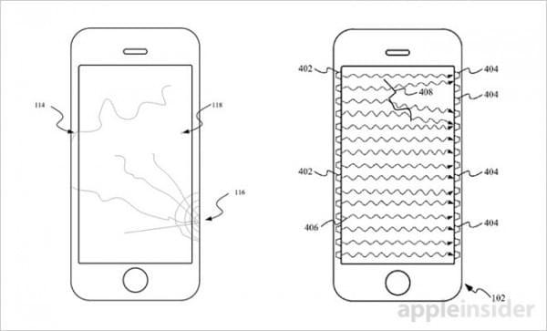 """未来iPhone可以通知用户""""你屏幕碎了""""的照片 - 1"""