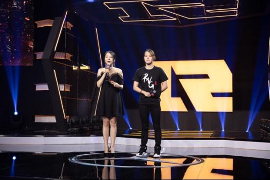 RNG主场开幕式揭幕 神秘嘉宾傅园慧出席应援