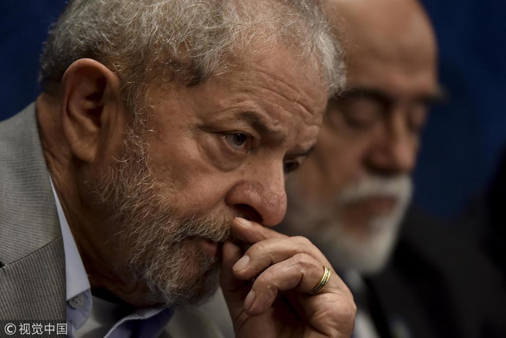 因贪腐罪被判12年 巴西前总统卢拉无缘今年大选