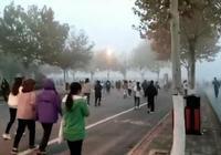大学生称雾霾天还晨跑 校方:没强制 可周末补跑