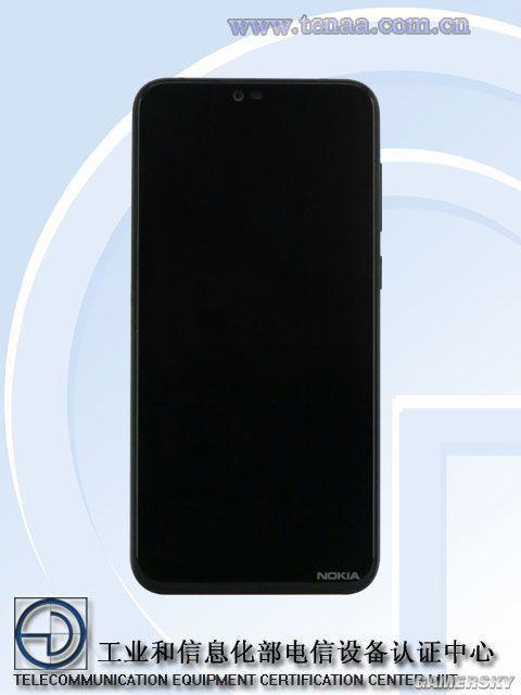 诺基亚X入网工信部:异形全面屏+1600万双摄