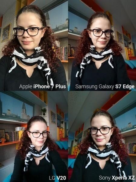 旗舰手机自拍对比: iPhone 7 Plus表现突出的照片 - 11