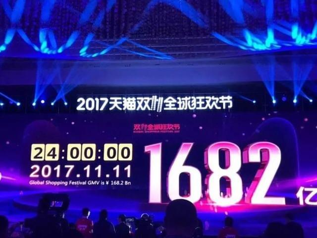 Alibaba's Singles Day sales reach a new height