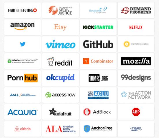 今天美国有8万个公司抗议运营商,这是怎么回事