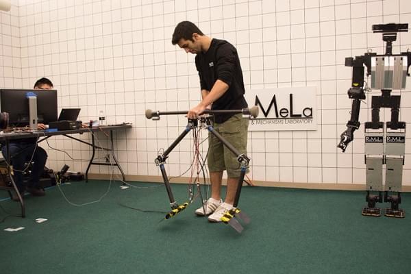 忍俊不禁:研究人员开发出两款步态奇特的行走机器人的照片 - 4