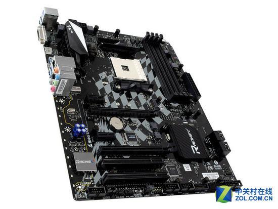 映泰B350GT5 扩展插槽方面,这款主板提供了两个PCI-E x16长度的插槽,可以用来接驳独立显卡,另外还有两个PCI-E X1接口和两个PCI接口可以供给不同玩家使用。存储接口方面,M.2高速SSD接口也必不可少,四个SATA III接口也可以满足日常使用。