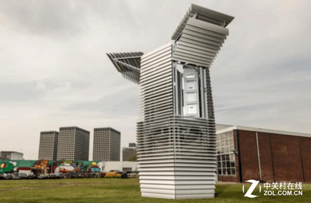 高达7米 像飞船一样的空气净化器你见过吗?