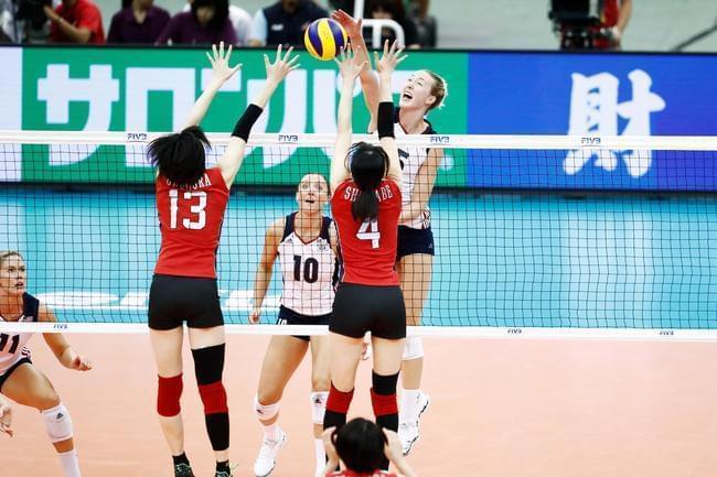 大冠军杯美国3-2逆转日本 中国女排提前1轮夺冠