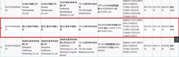 三星Galaxy S8已通过中国产品质量检测机构3C认证的照片 - 2