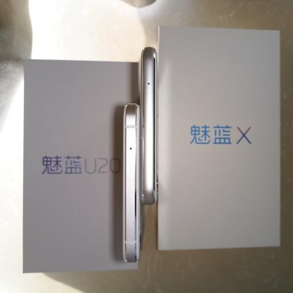 流光背影+首发P20:魅蓝X 开箱、跑分、快充、屏幕测试的照片 - 22