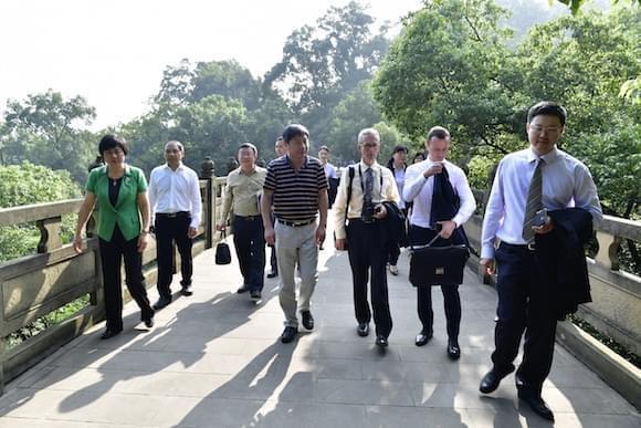 重庆南山植物园将与墨尔本植物园合作 打造具有国际影响力植物园