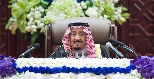 沙特國王在記者遇害案后首度公開演講 未提及該案