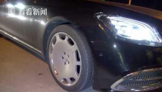 男子为撑面子将奔驰车标改成迈巴赫 结果被罚500元