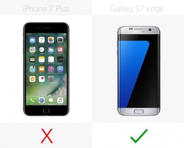 要双摄像头iPhone 7 Plus还是双曲面Galaxy S7 edge?的照片 - 6