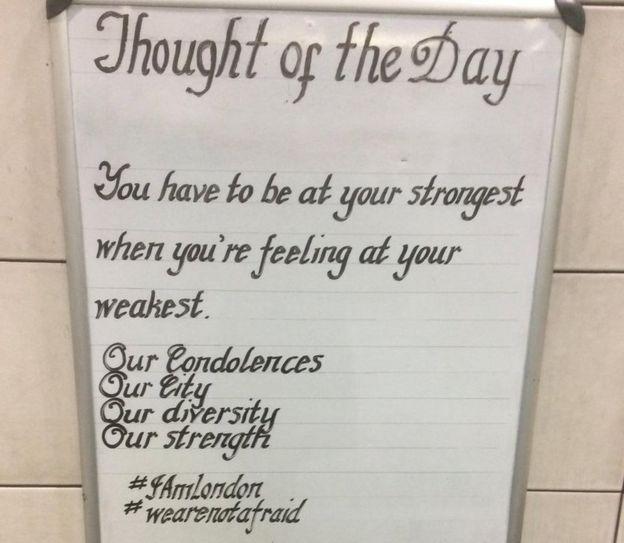 伦敦地铁站这句名言传了14年 原来出自《道德经》