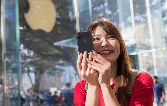iPhone X中国市场大卖:出货量增长32%