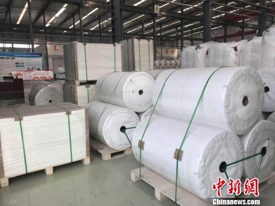 山西煤企转型环保项目石头纸产品受国际青睐