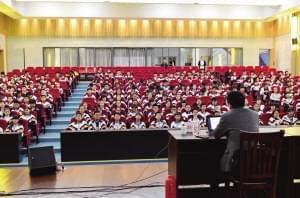 一场青春期健康知识讲座在兰亭举行