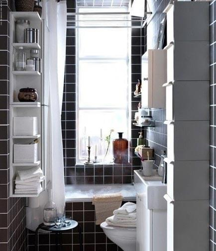 卫生间收纳,收纳架,收纳柜,卫浴间装修,收纳空间,青岛卫生间装修