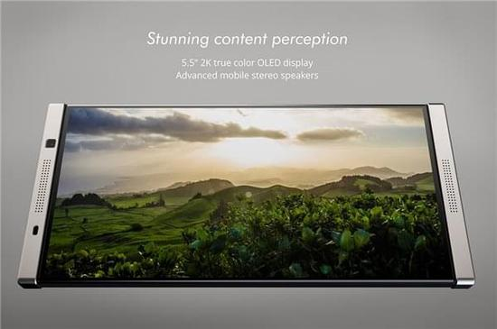最新黑莓概念手机:搭载骁龙845/全触摸屏设计