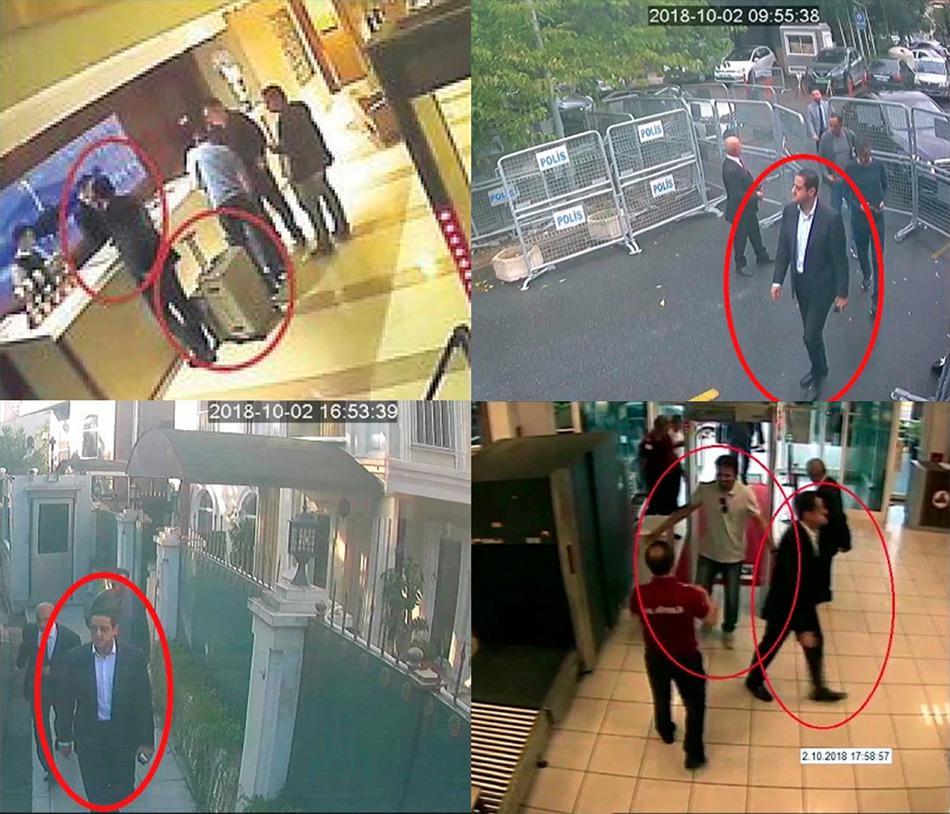 """沙特王储""""保镖""""熟悉卡舒吉案 4张照片证其在土行踪"""