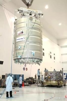 我国高校自主研发卫星进入太空:搭乘天鹅座货运飞船