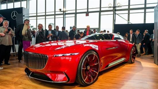 迈巴赫轿跑概念车 – Mercedes-Maybach 6实拍的照片 - 4