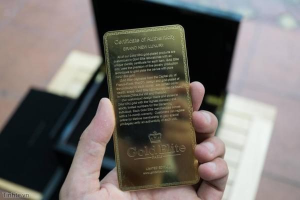 约5.5万 24K黄金iPhone7 Plus开箱图赏的照片 - 4