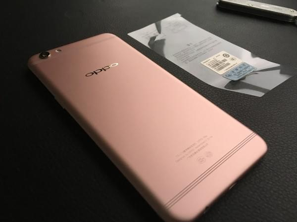 Oppo R9S开箱上手:颜值升级+IMX398的照片 - 7