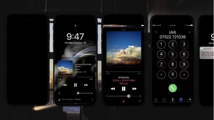 iPhone 8如何体现优势? OLED屏+暗黑模式+黑色机身的照片 - 1