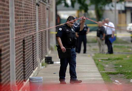 芝加哥暴力事件再发酵 6天内13人遭枪杀70人受伤