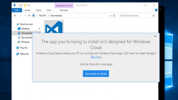 Windows 10 Cloud确认可付费升级完整版:步骤演示曝光的照片 - 1