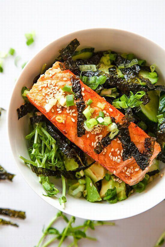 饮食是护发基础  图片源自www.skinnytaste. com