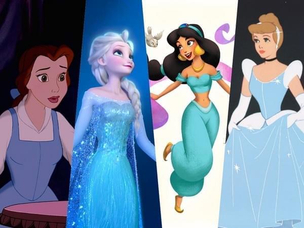 迪士尼公主为啥都穿蓝色:色彩专家说出真相的照片