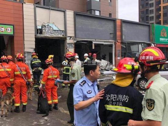 沈阳一烧烤店爆炸波及隔壁社区 社区副书记身亡