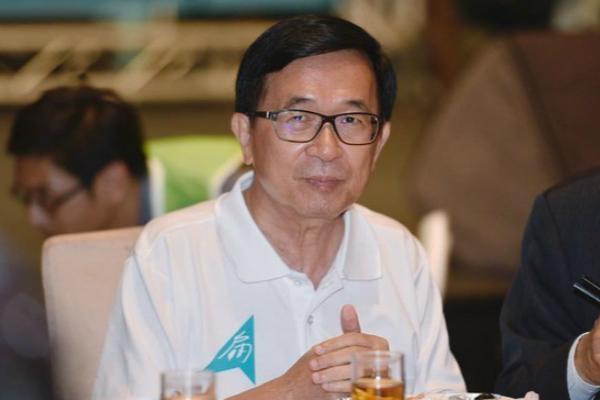 陈水扁欲高调亮相民进党会议 监狱:没申请 不能去