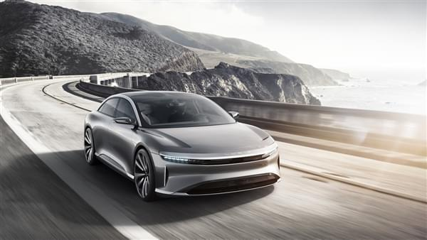 贾跃亭投资的Lucid Motors豪华电动汽车官图公布的照片 - 1