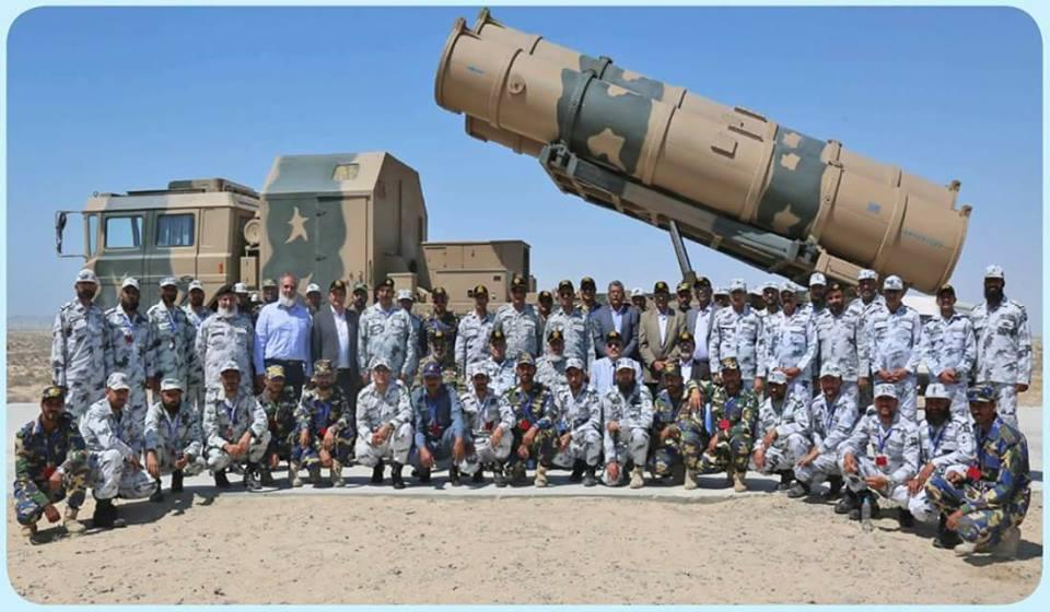 巴基斯坦仿制自中国鹰击62的岸舰导弹首次亮相